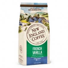 New England Coffee French Vanilla Decaf Ground 10oz