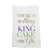 Nothing King Cake Can't Fix Kitchen Towel