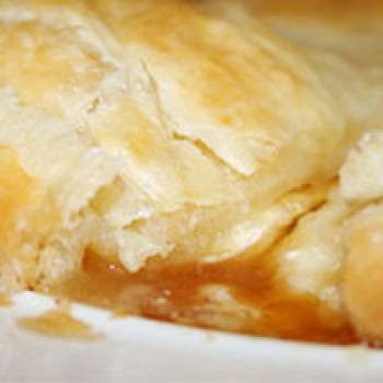 POUPARTS Baked Brie w/ Praline in Puff Pastry