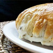 POUPART'S Baked Brie w/ Praline in Puff Pastry