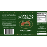 Perique I Want My Farm Back Italian Herb