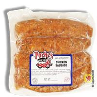 Poche's Chicken Sausage (Fresh) 1 lb