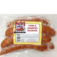 Poche's Pork & Crawfish Sausage 1 lb