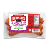 Richard's Andouille w/ Green Onion Sausage 1 lb