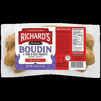 Richards Pork Boudin Regular