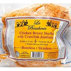 La Boucherie Stuffed Chicken Breast with Crawfish Jambalaya