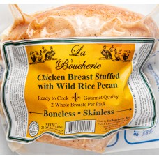La Boucherie Stuffed Chicken Breast with Wild Rice Pecan 24 oz