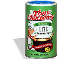 Tony Chachere's Lite Creole Seasoning