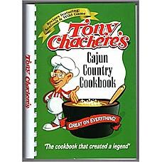 Tony Chachere's Cajun Country Cookbook