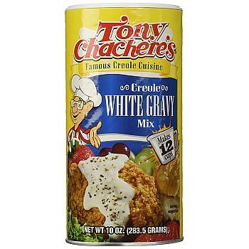 Tony Chachere's Creole White Gravy Mix 10 oz