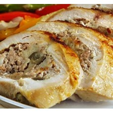 Turducken Roll with Seafood Jambalaya 4 lbs