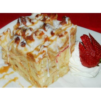 White Chocolate Bread Pudding Base