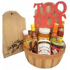 Who Dat's Hot Sauce Gift Basket
