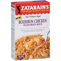Zatarain's Bourbon Chicken Flavored Rice 8 oz
