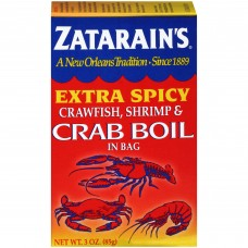 Zatarain's Crab & Shrimp Boil - Extra Spicy 3 oz