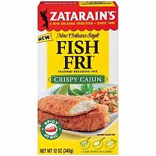 Zatarain's Crispy Cajun Fish Fri 12 oz