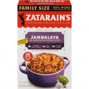 Zatarain's Family Size Jambalaya Rice Dinner Mix 12 oz