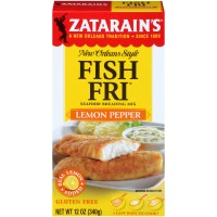 Zatarain's Lemon Pepper Fish Fri 12 oz