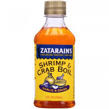 Zatarain's Liquid Crab Boil With Garlic & Onion 8 oz