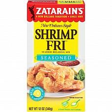 Zatarain's Seasoned Shrimp Fri 12 oz