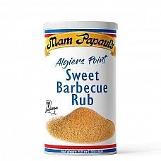 Mam Papaul's Algiers Point Sweet Barbecue Rub 5.5 oz